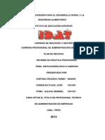 Plan de Negocio Rico & Sabroso s.A