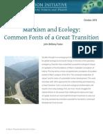 Marxism and Ecology