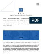EITCI, The European IT Certification Institute _ EITCI