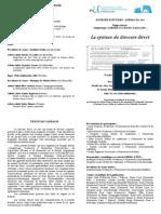 Programme JE Syntaxe DD