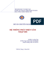 Do an He Thong Phat Hien Xam Nhap IDS