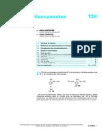 Toluylène diisocyanates