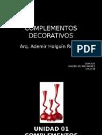 Complementos Decorativos- Criterios de Uso (Equilibrio)