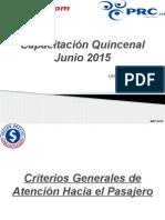 Capacitación Quincenal Junio 2015