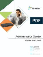 MyPBX Standard Administrator Guide En