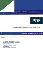 PCASP Para Multiplicadores - Rotinas Orçamentárias e Prog Financeira 13...