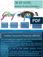 Godrej Supply Chain Model