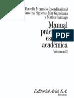 Montolio Manual Escritura Academica Montolio Manual escritura academicaemica