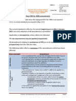 ifrs for smes amendments