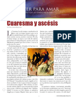 Cuaresma y Ascesis