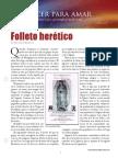 folleto heretico