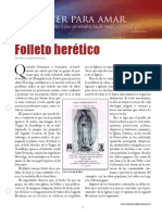 folleto heretico