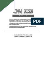 CNN ORC National Poll October 20 2015