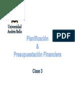 Clase 4 Planif. Ppto Financiera