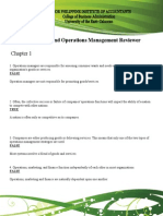 Productions and Operations Management Reviewer