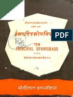 Ten Principal Upanishads With Shankar Bhashya - MLBD_Part1