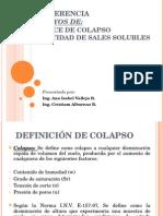 Conferencia I.colapso y Sales Solubles