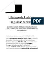 18-10-2015 Vértigo Político - Liderazgo de Puebla en Seguridad Sanitaria