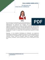 h.v. Actualizada Paola Andrea Sierra