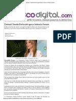 28-09-15 Destaca Claudia Pavlovich apoyo federal a Sonora - Peñasco Digital