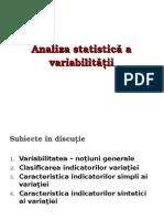 analiz Variatiei 2015