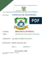 Monografia de Hormonas Animal y Vegetal