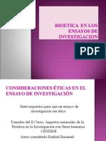 Bioetica en Los Ensayos de Investigacion (3)