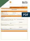 Undergraduate Application Form International Students