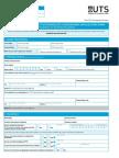 Uts Postgraduate Application Form International Students