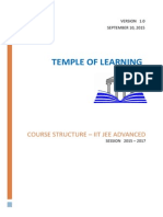 course structure - iit jee advanced