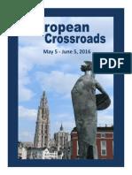 Brussels 2016 Brochure