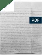 Kimberly Tutko's letter