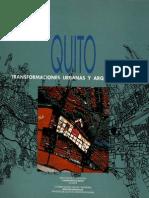 Transformaciones Urbanas y Arq.quitO