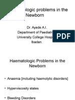 Haematologic Problems in the Newborn(Neonatology3)