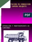 Capacitacion en Operación de Camiones