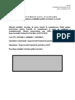 Document Standart Anvelope 2015-2016