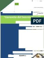 Garantía Del Interés Fiscal.
