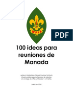 100 Ideas en Reunion de Manada