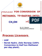 Unit-10 Methanol to Olefin