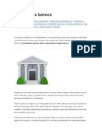 El Rol de Los Bancos