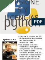 Versiones 01 python