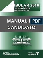 UNIFESP 2016 - Manual Do Candidato-1