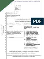 Quartz Hill Chamber of Commerce v. Quartz Hill Community Pagaent - Miss Quart Hil trademark complaint.pdf