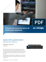 Manual Aastra 470 2.1