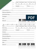 Assignment Sheet Outline