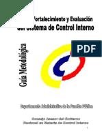 1.2.3 Guia Para El Fortalecimiento y Evaluacion Del Sistema de Control Interno