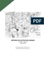 Metodos de Cultivo Del Bosque