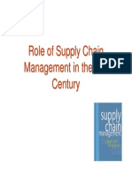Role of Supply Chain Management