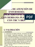 Derrame Pleural, Neumonia,Tbs y Prn