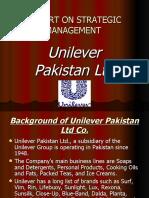 Unilever Strategic Management